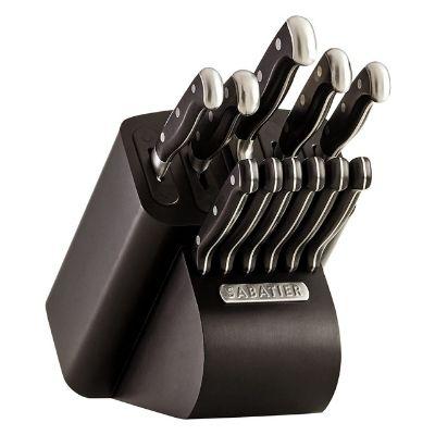 Sabatier Self-Sharpening Edgekeeper Pro 12-Piece Knife Set