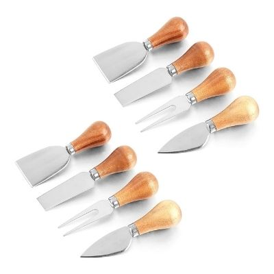 Fasmove 8 Pieces Cheese Knife Set