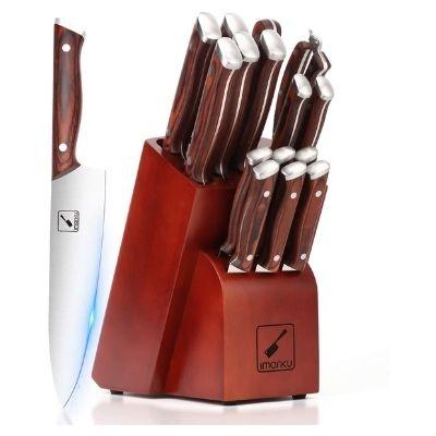 Imarku Stainless Steel Knife set