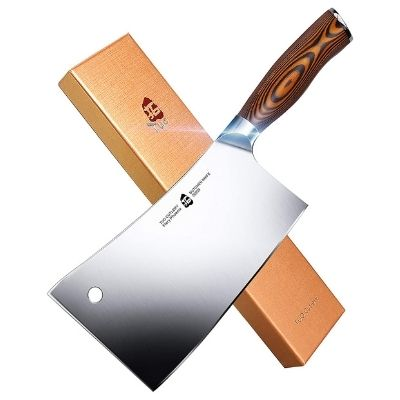 TUO Fiery Series 7-Inch Meat Cleaver