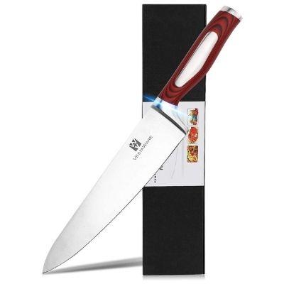 Vestaware 8-Inch German High Carbon Chef's Knife