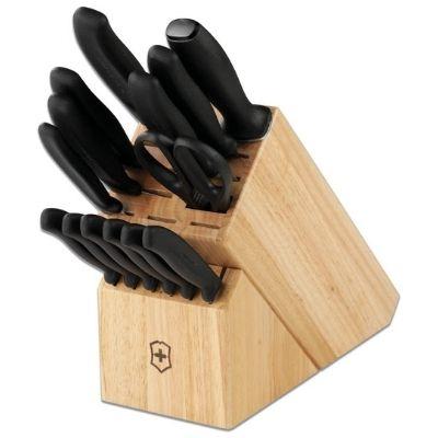 Victorinox Swiss Army 15-Piece Classic Knife Block Set