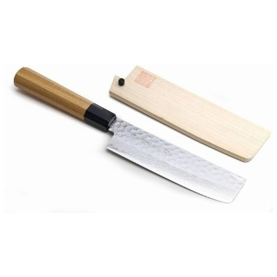 Yoshihiro VG-10 Nakiri Vegetable Knife