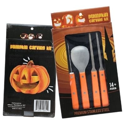Bootiful Professional 11.5 inch Pumpkin Carving Kit