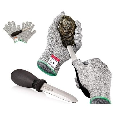 Rockland Guard 3.5'' Oyster Shucking Set