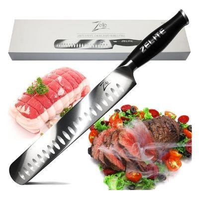 Zelite Infinity 12 Inch Slicing Carving Knife For Brisket