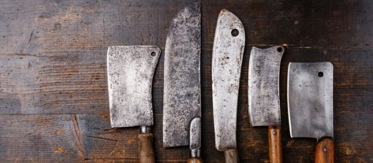 Dispose of old Kitchen Knives