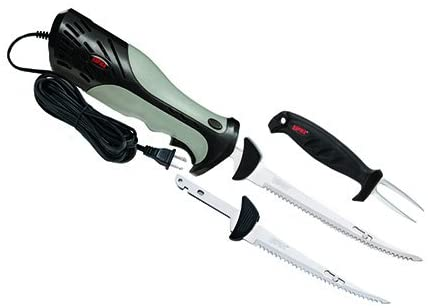 Rapala Cordless Battery Operated Fish Fillet knife Combo