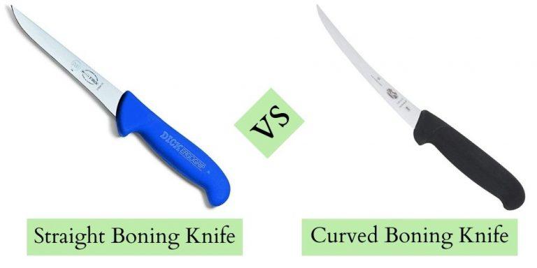 Curved vs Straight Boning Knife