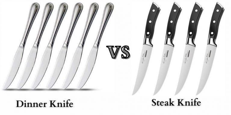 Dinner Knife vs. Steak Knife