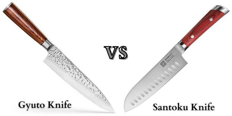Gyuto vs Santoku
