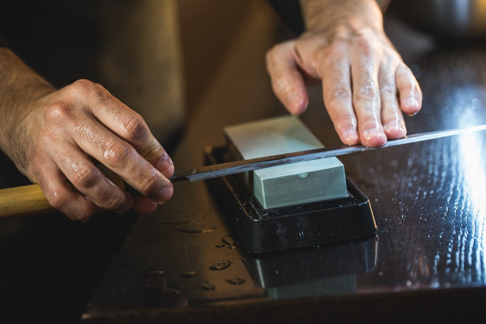 How to Sharpen a Sushi Knife